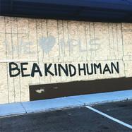 Be a kind human artwork