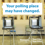 Your polling place may have changed image