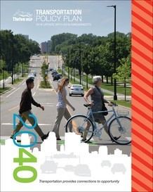 Thrive MSP Transportation Policy Plan 2040 preview image