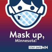 Mask up, MN