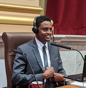 Ward 6 Council Member Jamal Osman