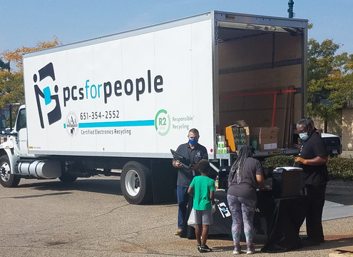 PC's for People truck