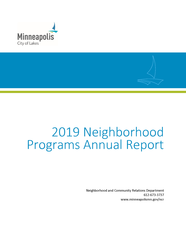2019 Neighborhood Programs Annual Report preview image