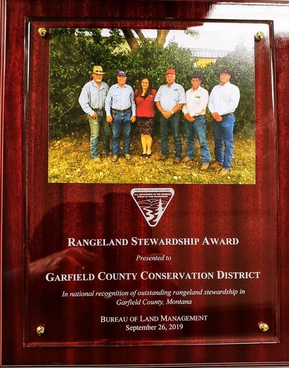 Garfield CCD Award