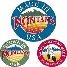 Made in Montana, Grown in Montana, Native American Made in Montana