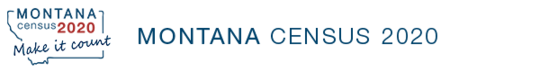 Montana Census 2020 Banner