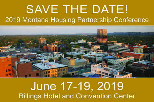 Save the Date: Montana Housing Partnership Conference