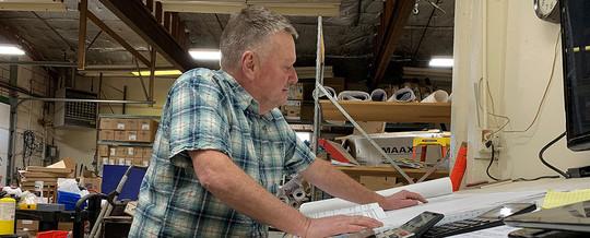 Steve Hix, owner of Action Plumbing Plus, Inc. in Great Falls