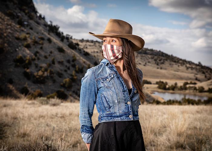 Montana Robe Company Masked Model