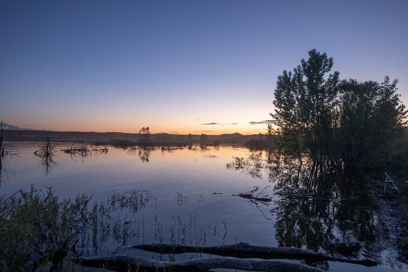 Toungue River Reservoir