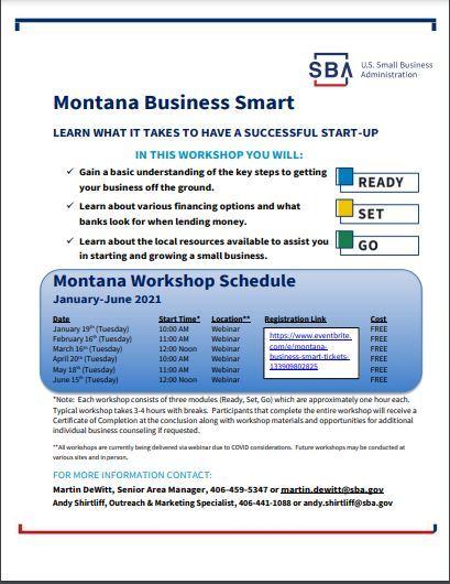 Montana Business Smart Flyer