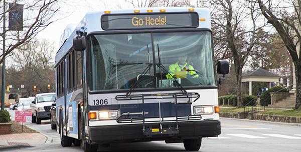 Go Heels Bus