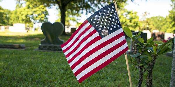 Cemetery Flag