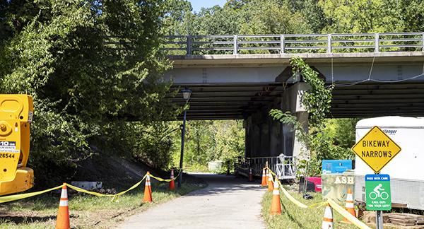 Bolin Creek Bridge Repairs