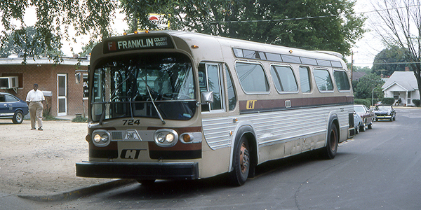 Old Chapel Hill Transit Bus