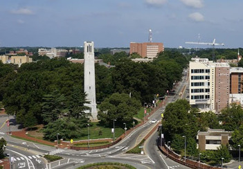 NC State, Bell Tower Image
