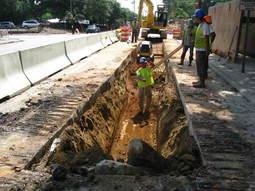 Hillsborough Street construction image