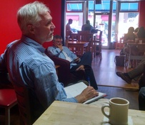 Image from Sept. Coffee Talk, Richard Dickie