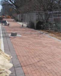 brick sidewalk image