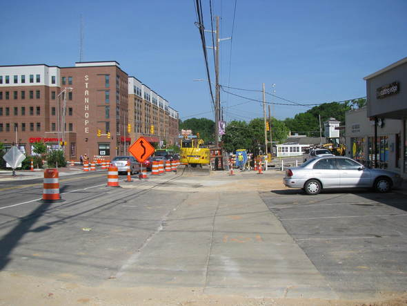 Hillsborough Street Construction Image