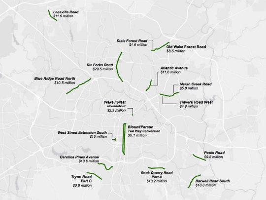 Transportation Bond map