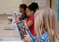 NC Elementary Students Reading
