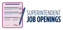 Superintendent Job Openings