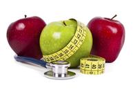 Health (apples, tape measure, stethoscope)