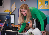 NC Elementary Teacher and Student