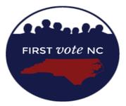 First Vote NC logo