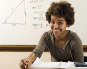 High School Math Student