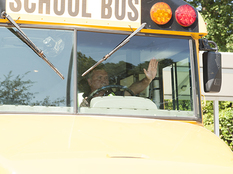 School Bus Hand Signal
