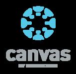 Canvas blue icon