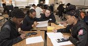 High School Math Classroom