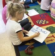 NC Elementary Math Classroom
