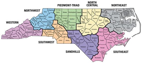 SBE Region Map