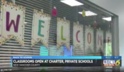 WECT Reports on Roger Bacon Academy Reopening Plan
