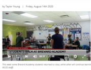 Learning during a pandemic: How a Brevard school is keeping students safe