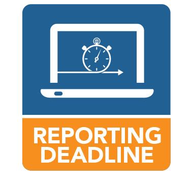Reporting deadline