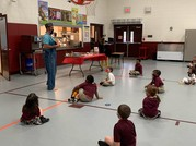 Thomas Jefferson Classical Academy Kindergartners make learning about apples fun and engaging.