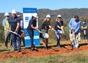 Shining Rock breaks ground on future school site