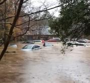 School flooding Corvian