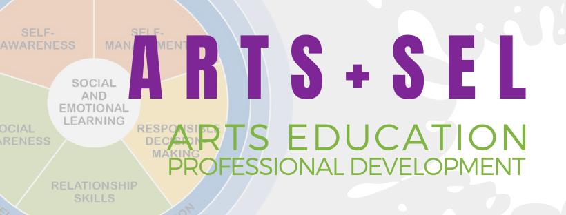 Arts Ed & SEL Webinar Banner