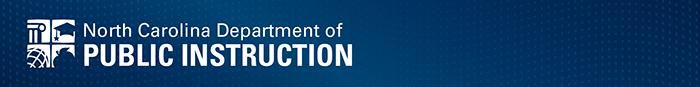 NCDPI Bulletin Header