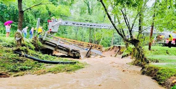 Flooding - Haywood 2021