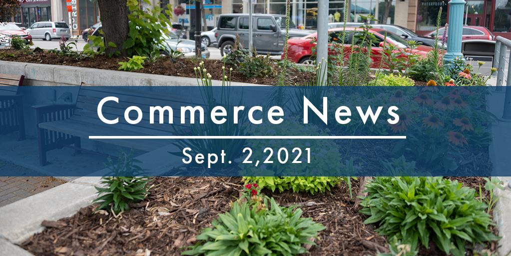 Commerce News - Sept. 2, 2021
