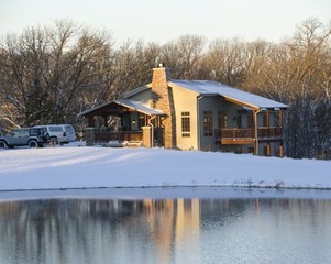 Ponca State Park mini lodge