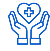 Healthcare coverage icon