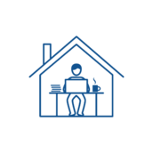 Work From Home Icon Image