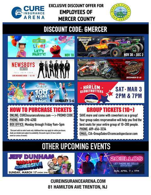 Insider: Employee Discount Code for CURE Arena!